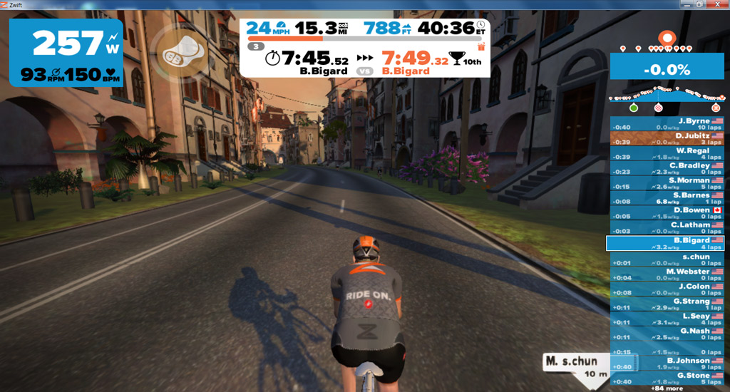Zwift: An Online Game I Can Get Into | totaltriathlon com